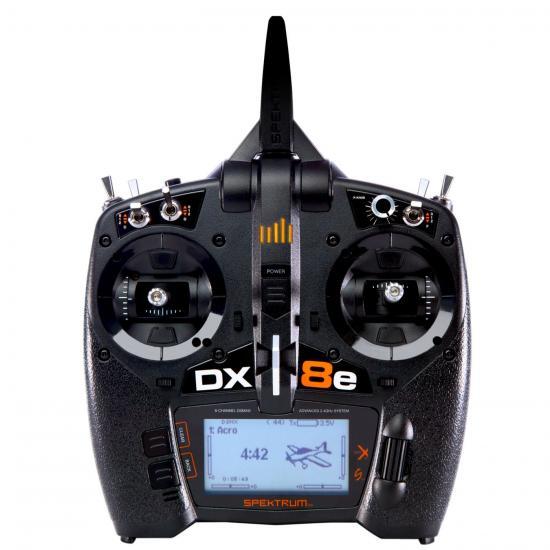 Spektrum DX8e 8-CHanger 6nel Transmitter Only EU (SpektrumR8100EU)