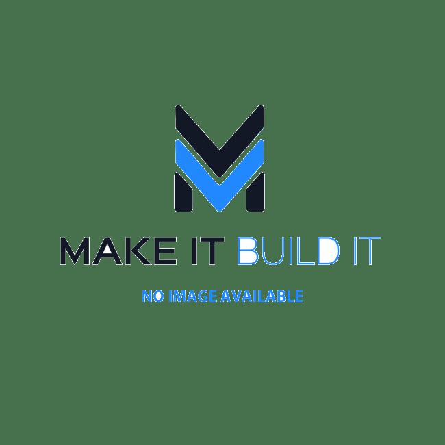 TRX6872A-TRAXXAS Wheels,SCT SplitSpoke, chrome/red b'lock (4WD FR/Rr, 2WD Rr)
